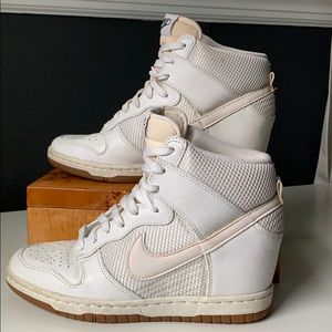 *RARE* NIKE Dunk Sneaker Wedges